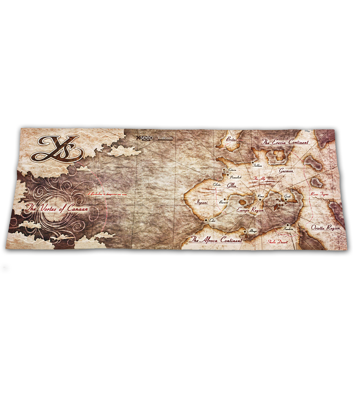 Ys: SEVEN - Cloth Map on freedom wars map, blank us map, guild wars map, labeled us map, us highway map, ja map, pa map, sg map, ou s map, brazil map, bloodborne map, se map, os map, usa map, united states map,